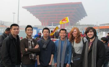 China study abroad students